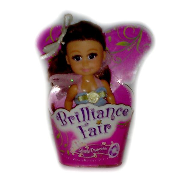 Кукла Brilliance Fair - Маленькая принцесса в голубом платье, 10 см