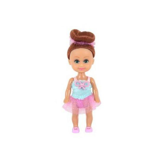 Кукла Sparkle Girlz - Маленькая балерина, в розово-голубом, 10 см