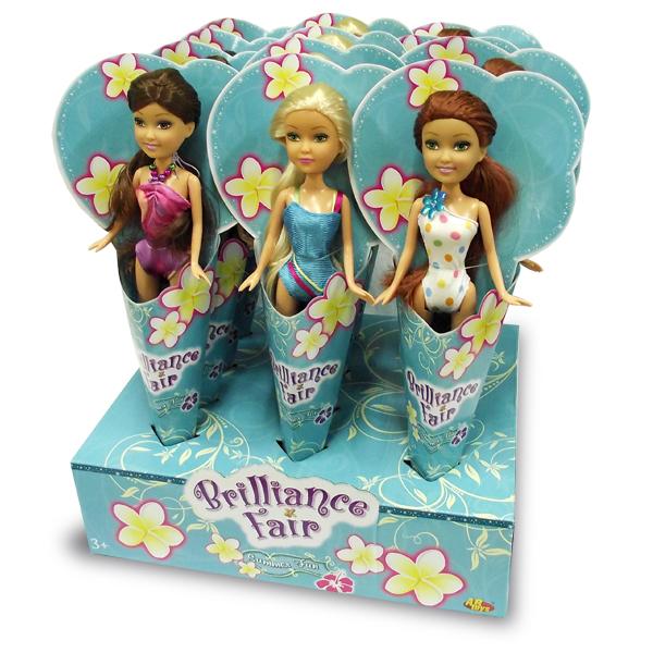 Кукла Brilliance Fair в купальном костюме, 27 см