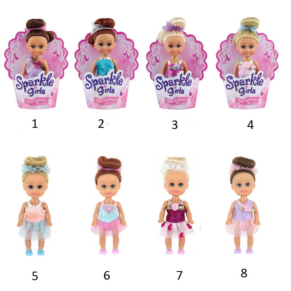 Кукла Sparkle Girlz - Маленькая балерина, 10 см