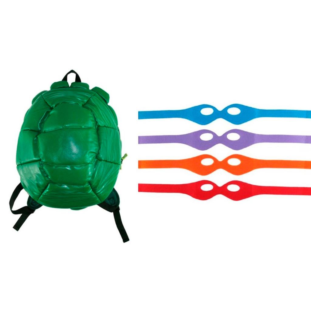 """Школьный рюкзак """"Черепашки-ниндзя"""" - Панцирь, с повязками"""