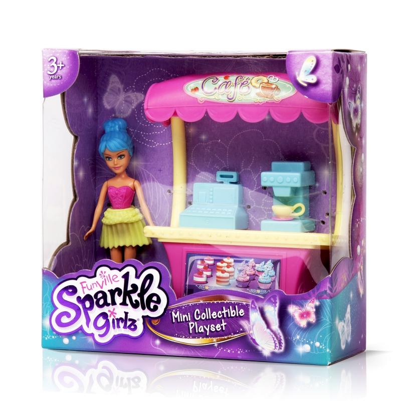 Sparkle Girlz Игровой набор (кукла 10 см, мебель, в ассорт.)