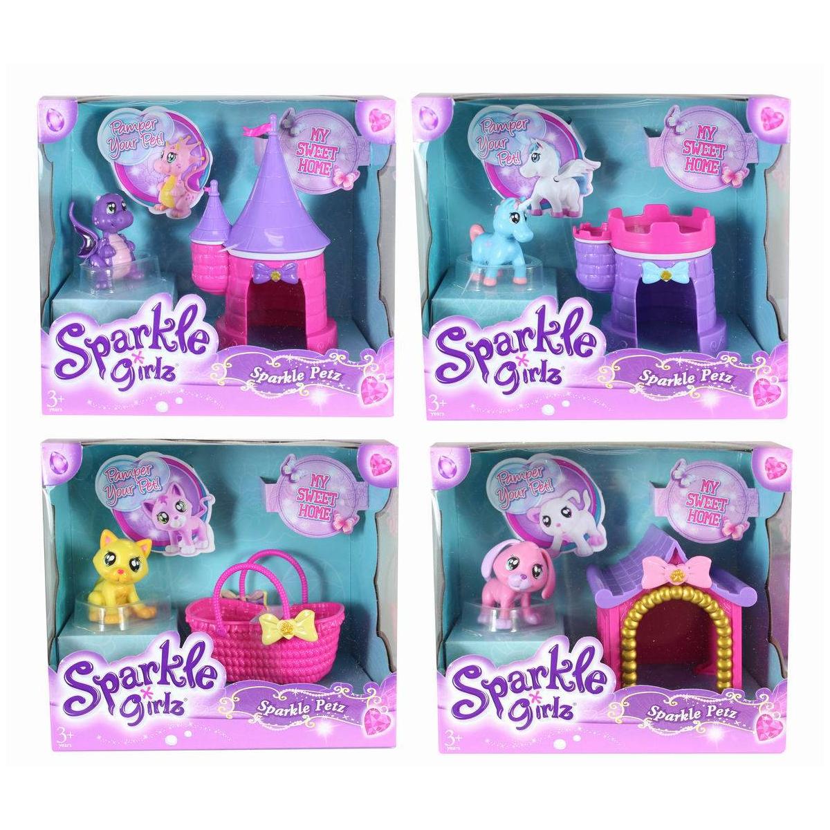 """Игровой набор Sparkle Girlz """"Питомец с аксессуарами"""""""