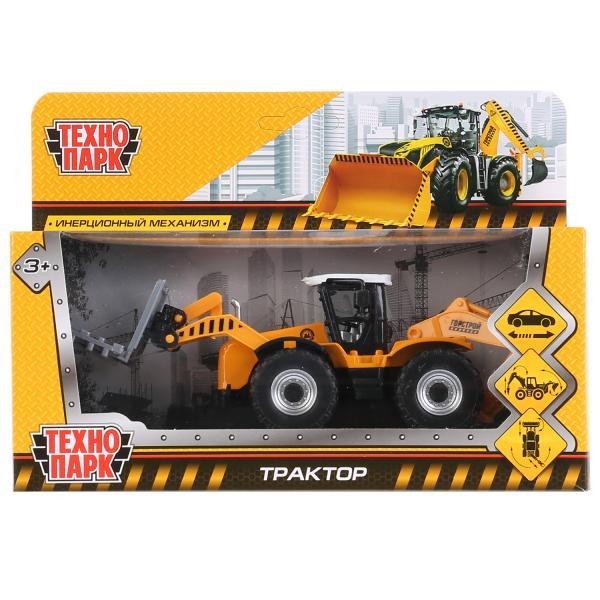 """Инерционная машинка """"Трактор"""", 15 см"""