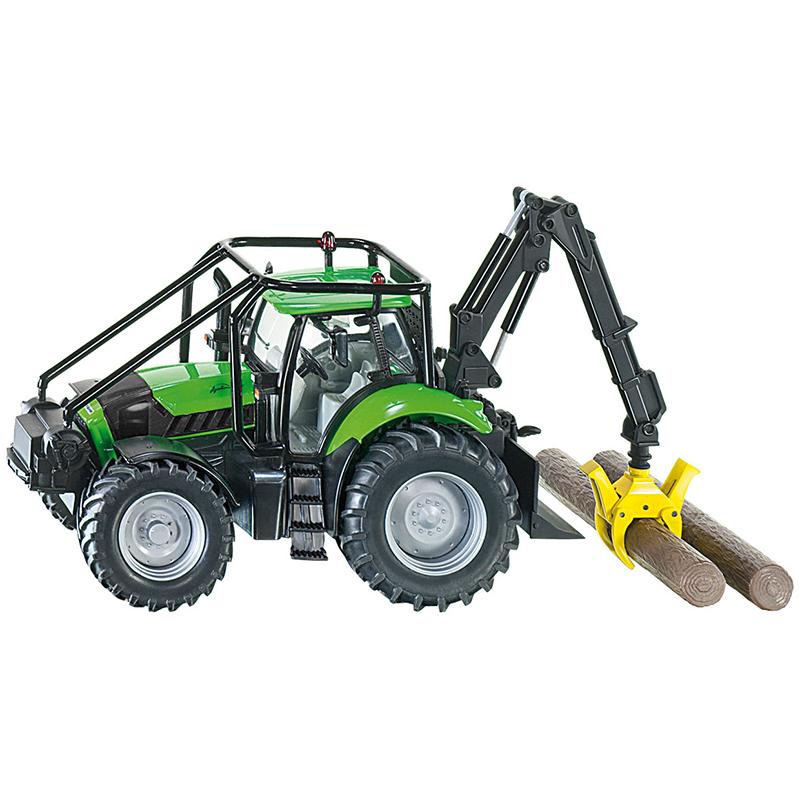Трактор лесоукладочный, 1:32