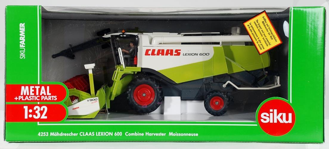 Комбайн Claas Lexion 600, 1:32