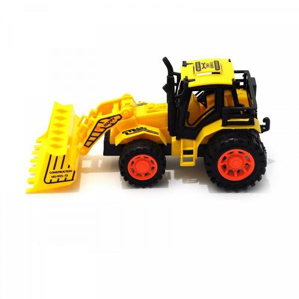 Инерционная машина Happy Farm - Трактор с ковшом, желтый