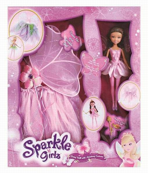 Кукла Brilliance Fair - Sparkle Girlz, розовая, 26.7 см