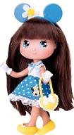 Кукла Минни брюнетка в синем