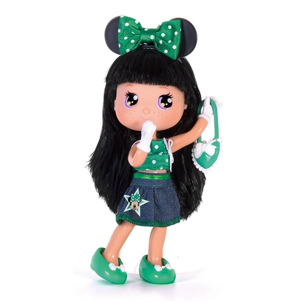 Кукла Минни с зеленым бантом