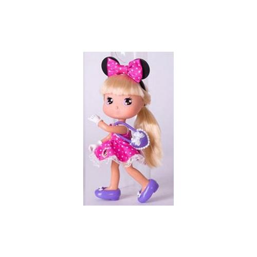 Кукла Минни блондинка в розовом