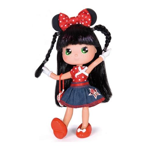 Кукла Минни с красным бантом