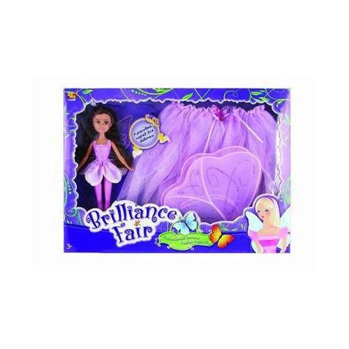 Кукла с карнавальным костюмом Brilliance Fair, фиолетовая