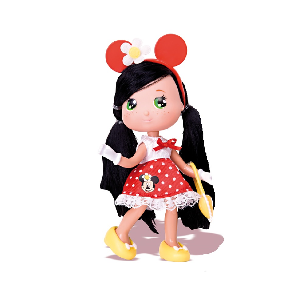 """Кукла """"Минни"""" с красным ободком,16 см"""