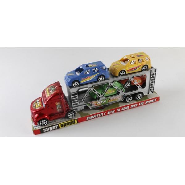 """Игровой набор """"Автовоз с 4 машинками"""""""