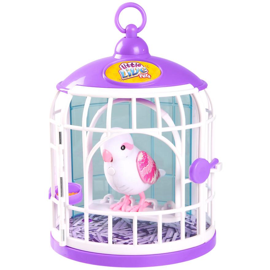 Говорящая птичка Little Live Pets - Белла Рина в домике, 3 сезон