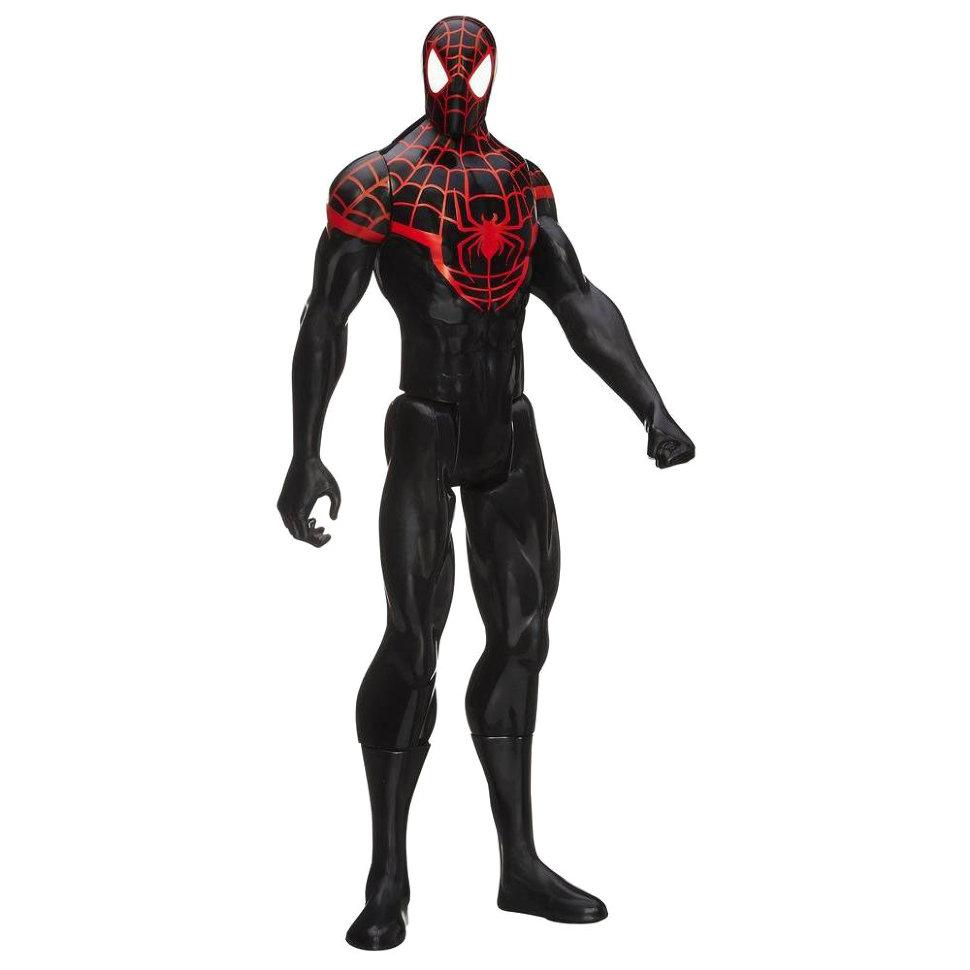 человек паук черный картинки игрушки полностью