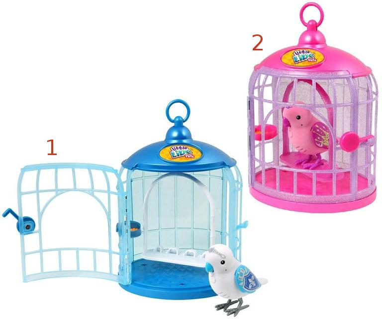 Интерактивная игрушка Little Live Pets - Птичка в клетке