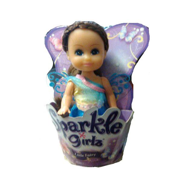 Кукла Sparkle Girlz - Маленькая Фея, в голубом, 10 см