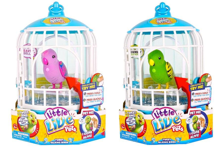 Интерактивная птичка в домике Little Live Pet