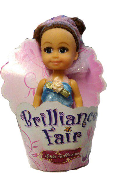 """Кукла """"Маленькая Балерина"""", в голубом, 10 см"""