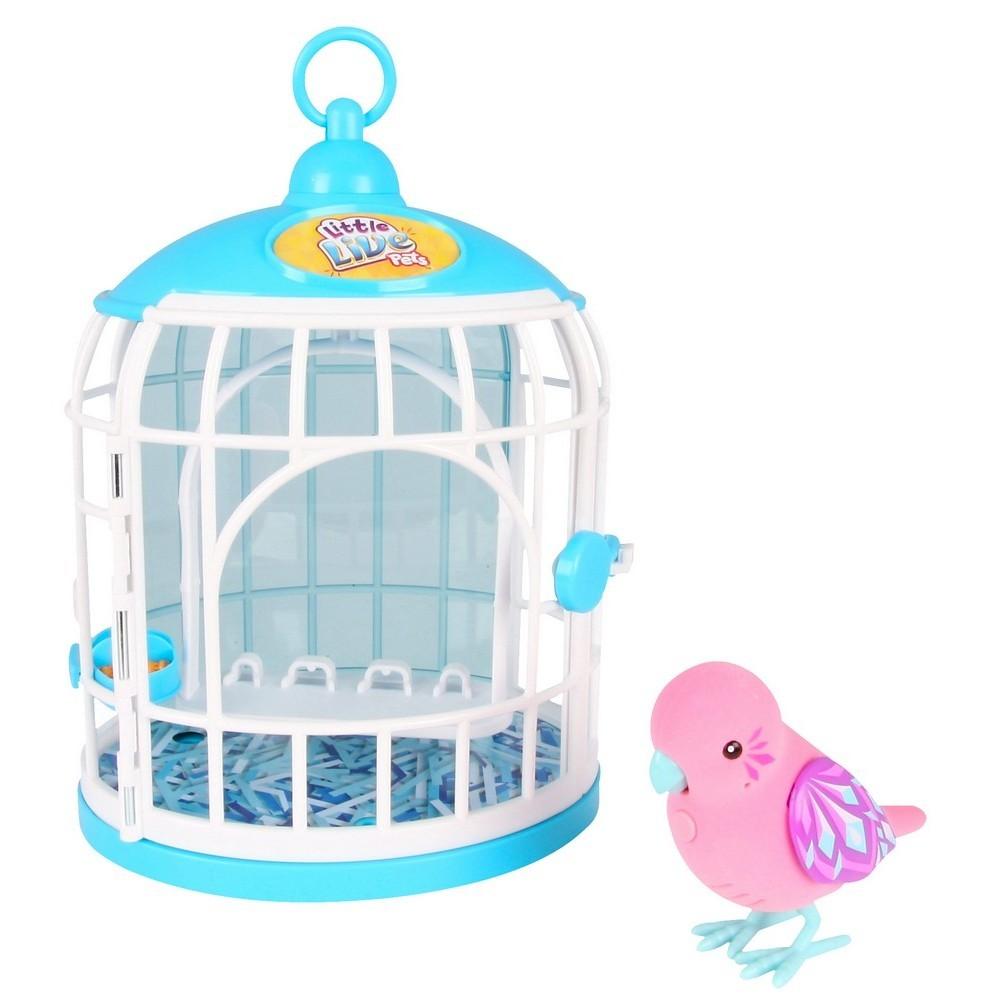 Говорящая птичка Little Live Pets, розовая