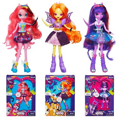 Девушки эквестрии радужный рок картинки кукол