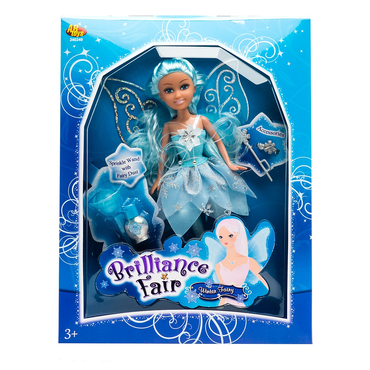 Кукла Brilliance Fair с аксессуарами - Snowstorm, 26.7 см