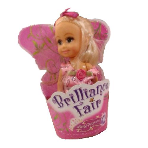 Кукла Brilliance Fair - Маленькая принцесса в розовом платье, 10 см