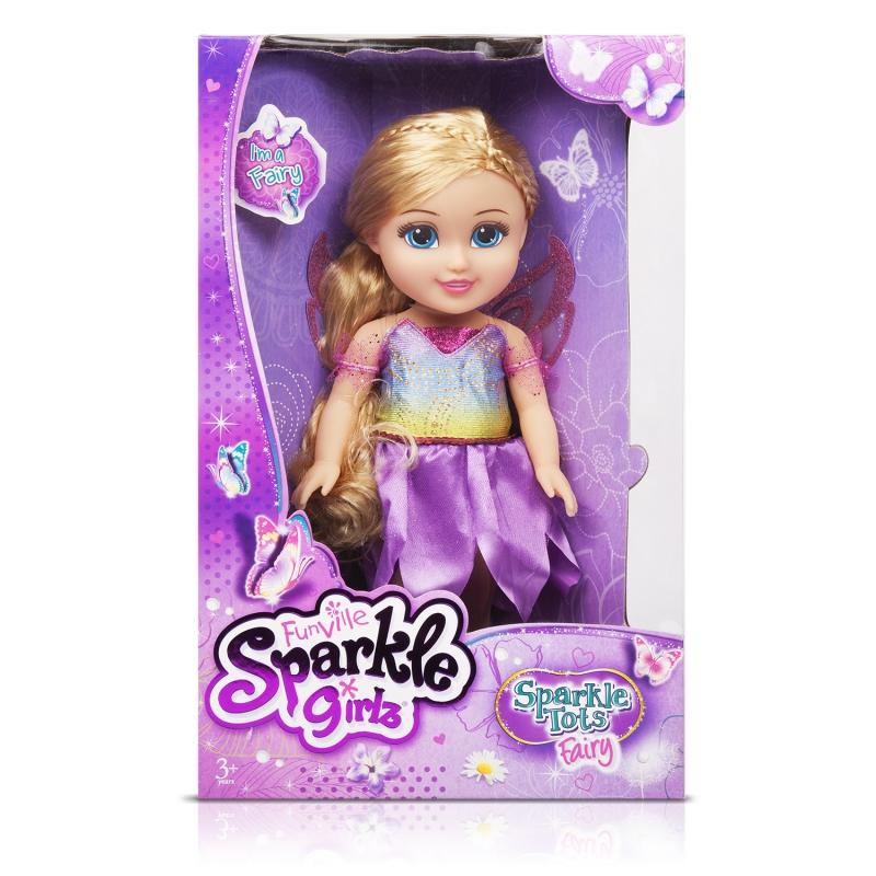 """Sparkle Girlz Кукла """"Сказочная фея"""" (33 см, подвижн., аксесс., в ассорт.)"""