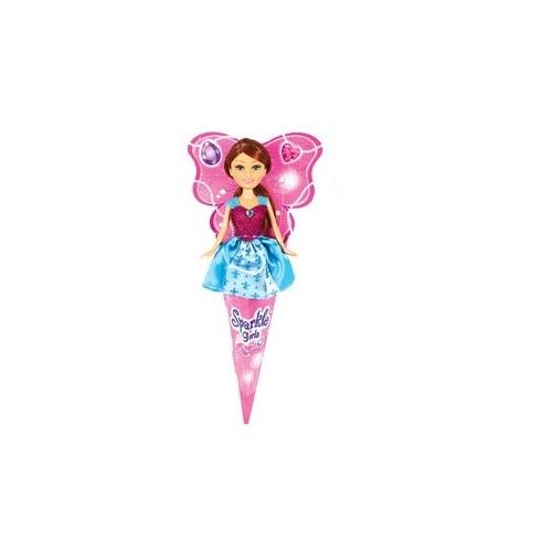"""Кукла """"Спаркл Герлз"""" - Принцесса, в бордово-голубом платье, 27 см"""