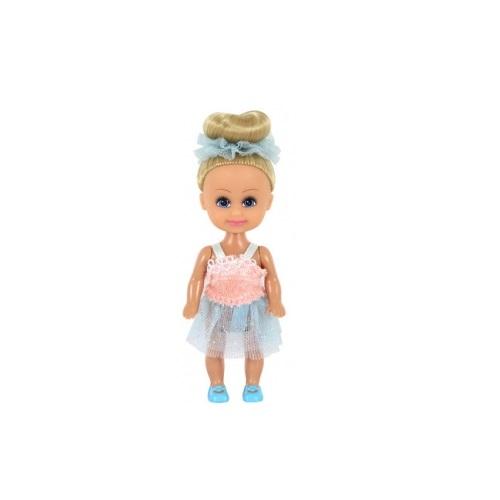 Кукла Sparkle Girlz - Маленькая балерина, блондинка в розово-голубом, 10 см