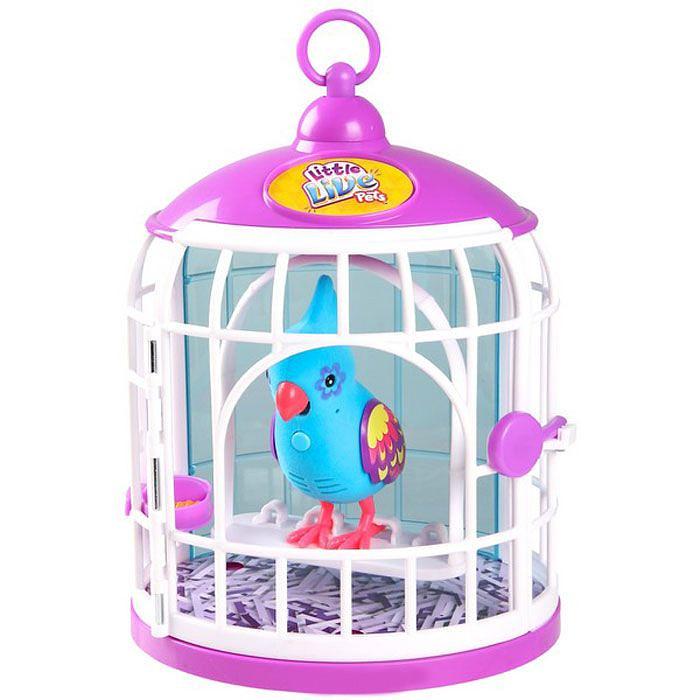 Говорящая птичка Little Live Pets - Веселое Перышко в домике, 3 сезон
