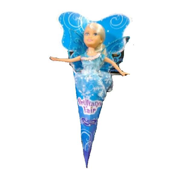 """Кукла Brilliance Fair """"Зимняя фея"""" - Блондинка в голубом, 27 см"""