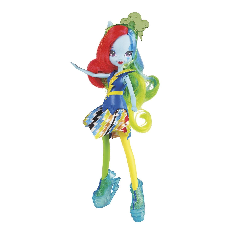 давным-давно, кукла пони радуга получаются незаезженные свежие