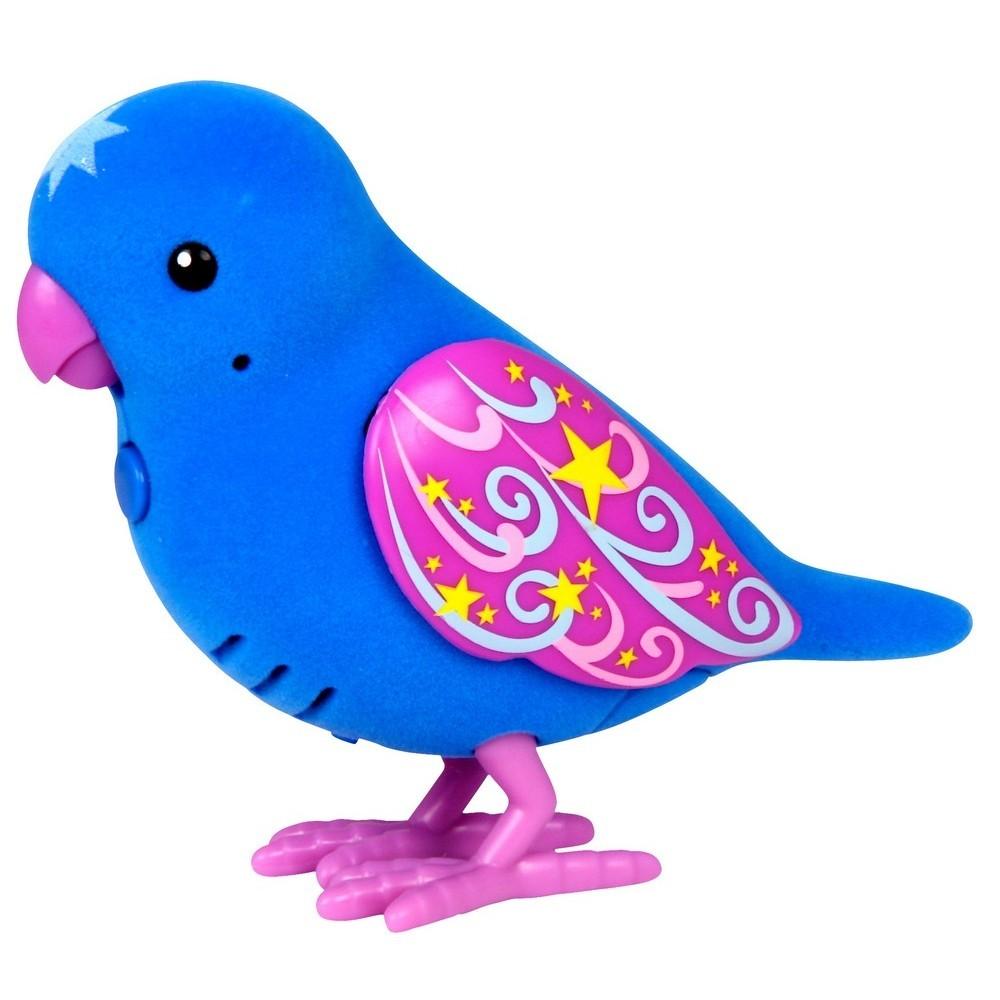 "Говорящая птичка Little Live Pets ""Храбрый Эрни"", синяя"