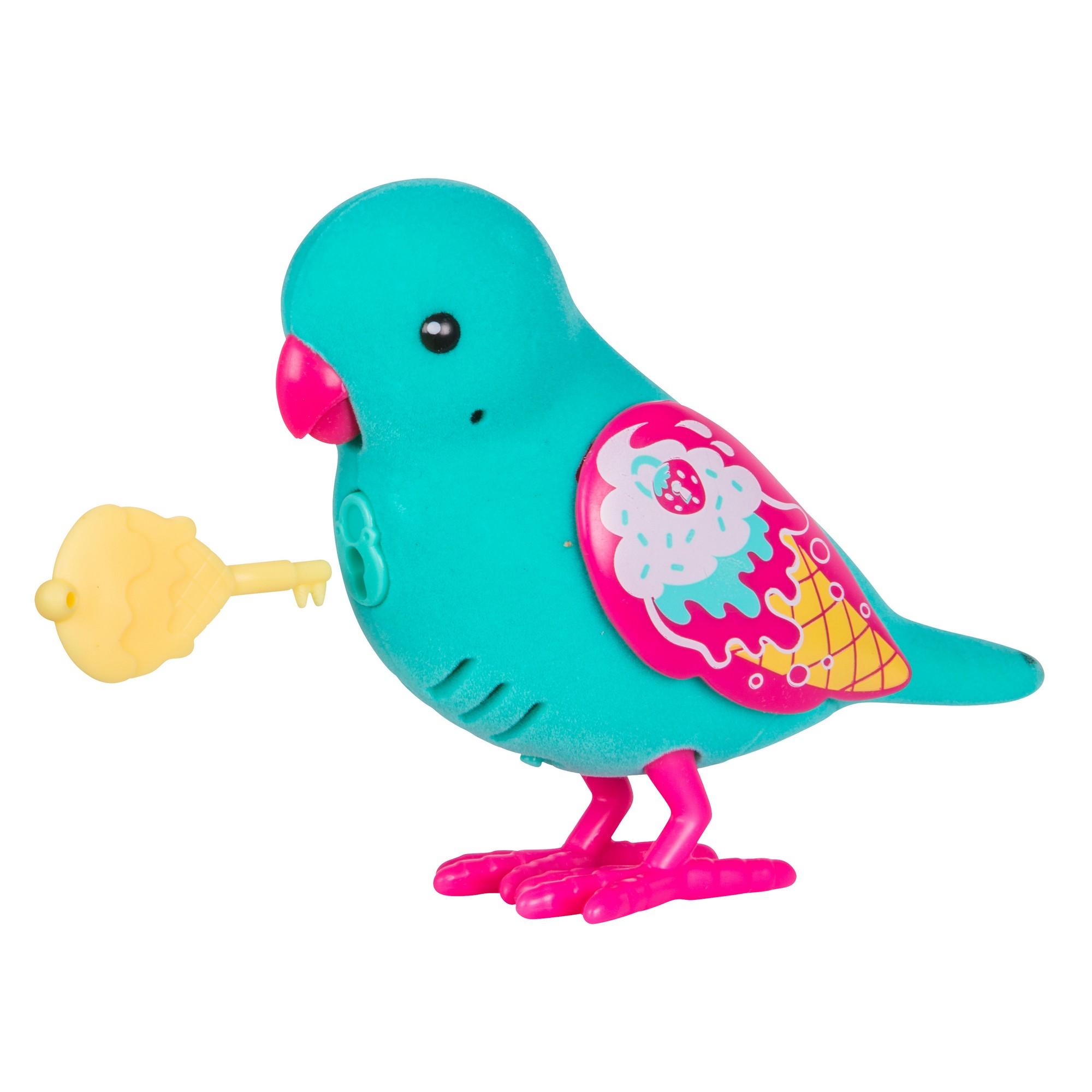 Интерактивная птичка Little Live Pets - Secret Sweetie (звук, запись), голубая