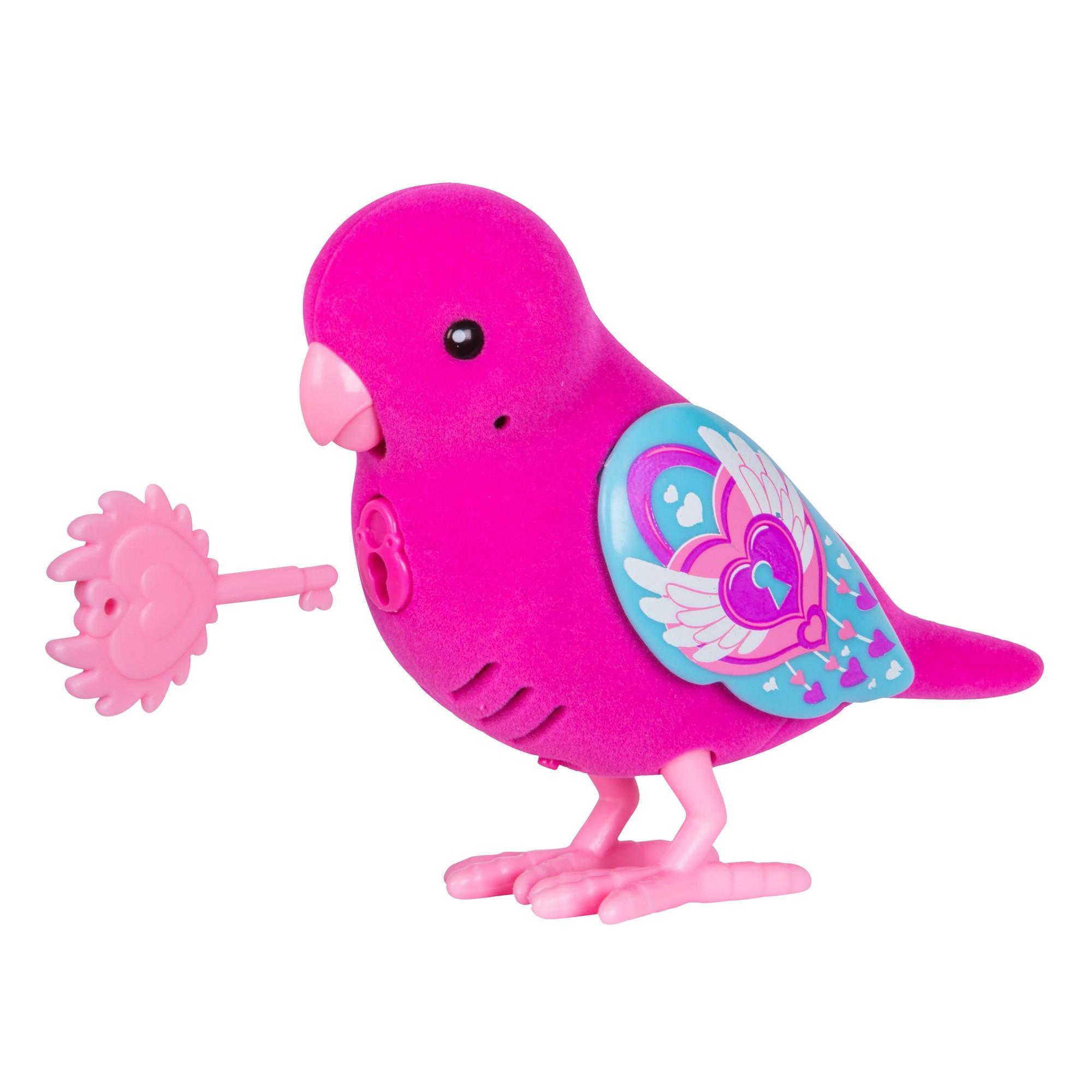 Интерактивная птичка Little Live Pets - Lockie Lovebird (звук, запись), фиолетовая