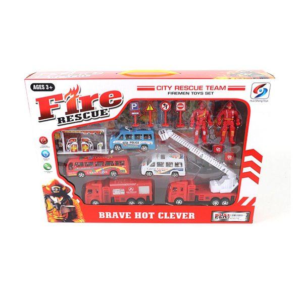"""Игровой набор """"Пожарная охрана"""" с аксессуарами"""