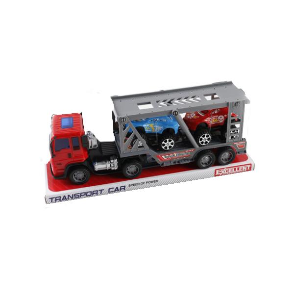 Инерционный трейлер Transport Car с 2 машинками