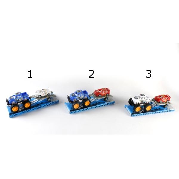 Инерционная машина с прицепом и машинкой