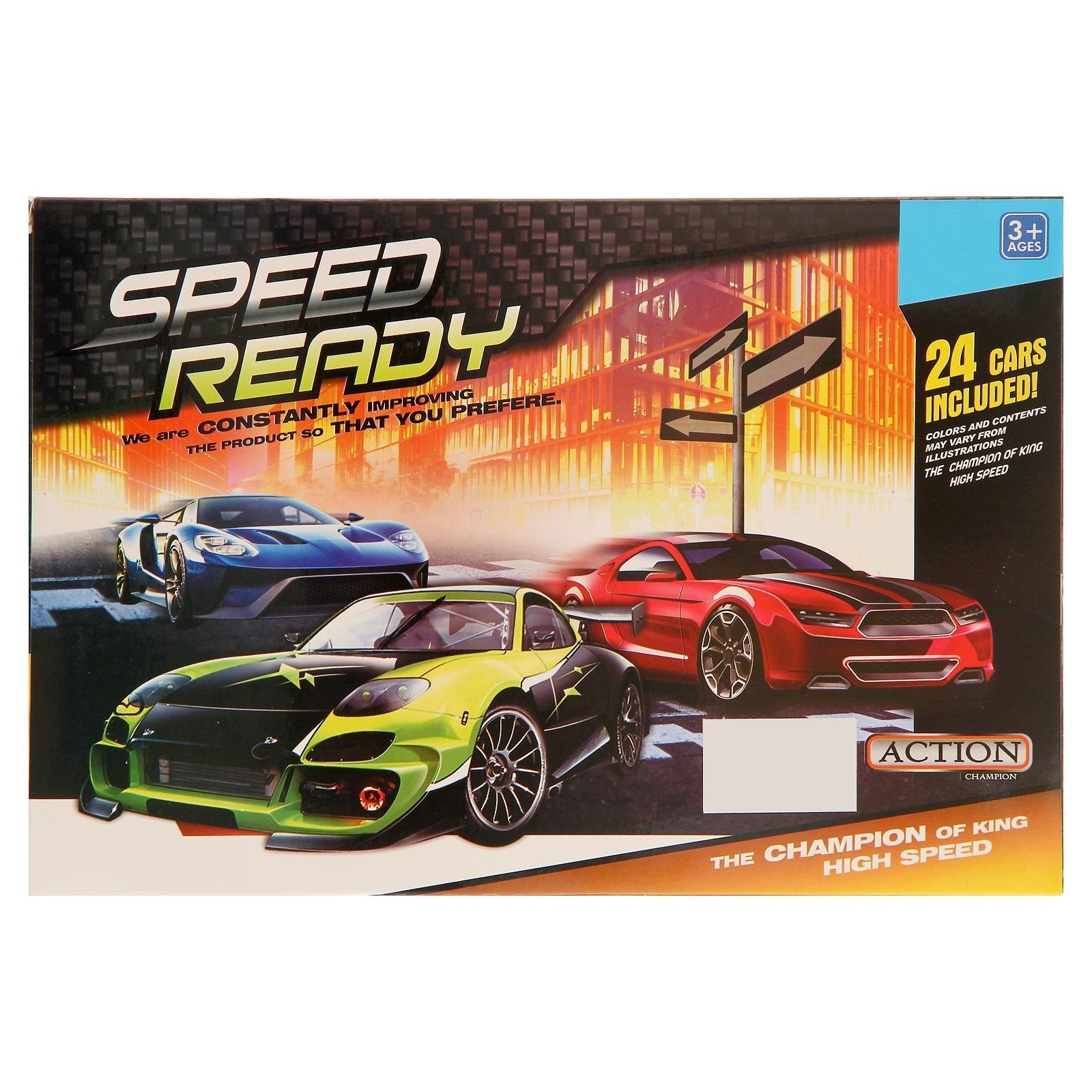 Набор машинок Speed Ready