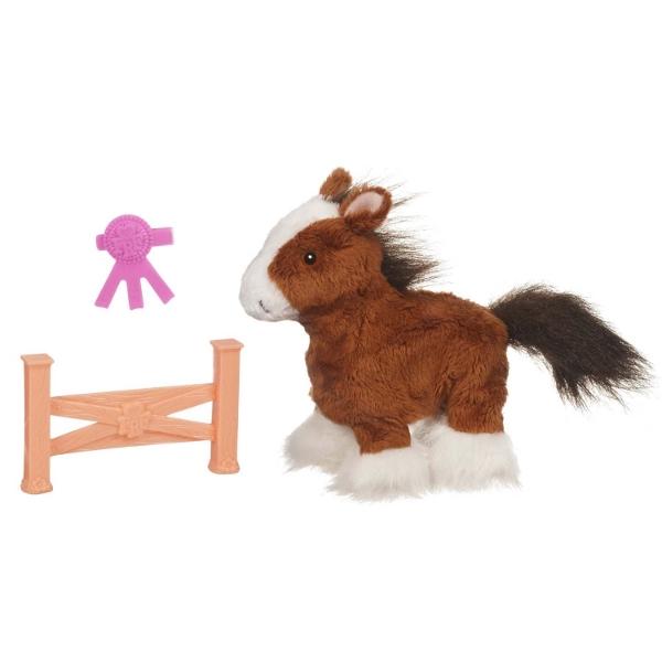 Ходячий ласковый пони FurReal Friends, коричневый