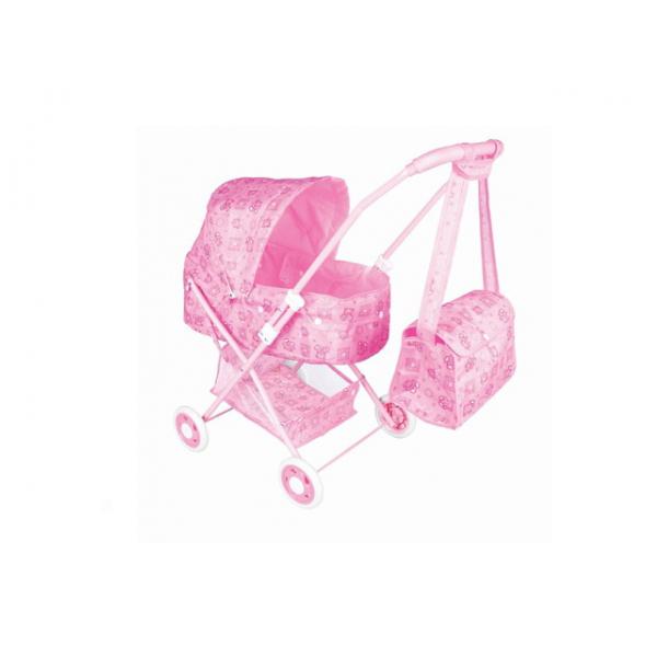 Прогулочная коляска для кукол с сумкой