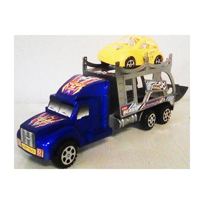 Трейлер Super Power Truck, синий