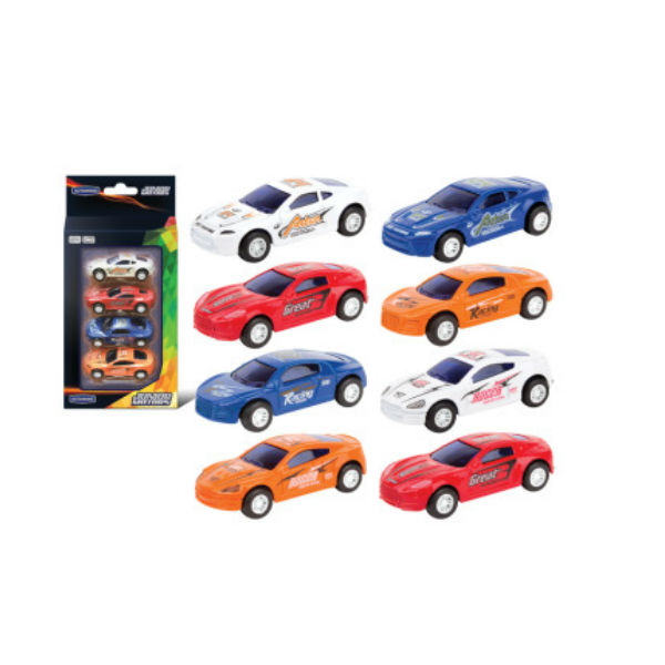 Набор из 4 машин Dream Sport Cars