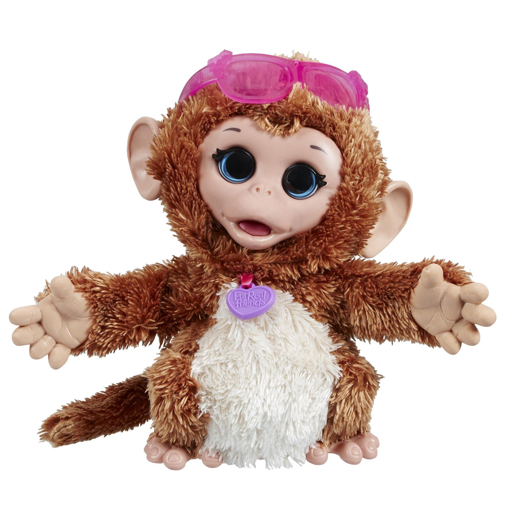 """Игрушка FurReal Friends """"Озорные зверята"""" - Забавная обезьянка (звук)"""