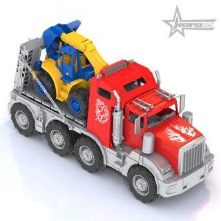 "Трейлер ""Аризона"" с трактором"
