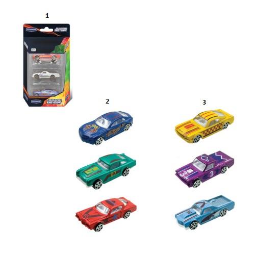 Набор из 3 машинок Premium Muscle Car, 1:60