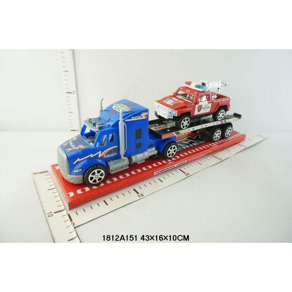 Инерционный трейлер с машинкой